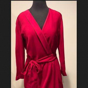 Diane von Furstenberg Millicent wrap dress size 10